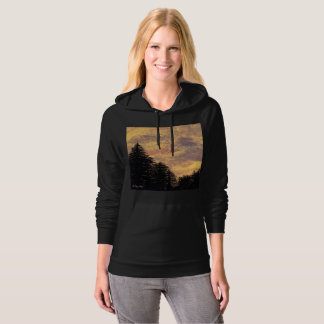 "Hoodie ""Golden Sunset Pines"" by All Joy Art"