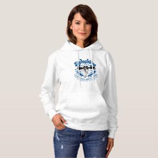 Hoodie, non-zip, large logo hoodie