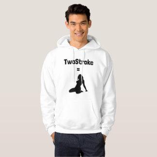 Hoodie (TwoStroke=Woman, logo in front)