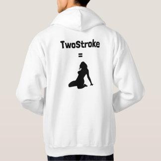 Hoodie (TwoStroke=Woman, logo on reverse)