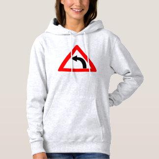 #hoodieforher left turn hoodie