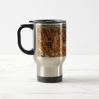 Hoodoos at Sunset Point in Bryce Canyon Travel Mug