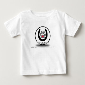 Hoofbeats and Pawprints Simple Logo Baby T-Shirt