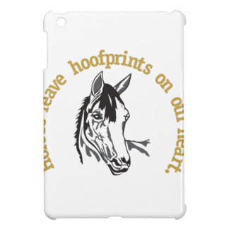 Hoofprints On Our Hearts Cover For The iPad Mini
