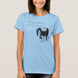 Hoofprints on your Heart T-Shirt