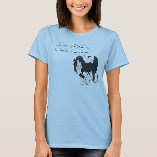 Hoofprints on your Heart T-Shirt
