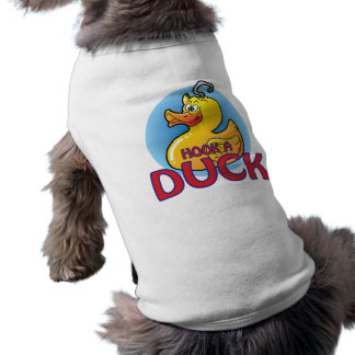 Hook-A-Duck Sleeveless Dog Shirt