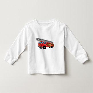 Hook and Ladder Fire Engine Toddler T-Shirt