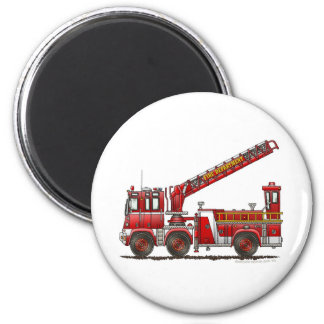 Hook and Ladder Fire Truck Magnets