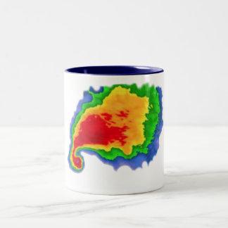 Hook Echo Two-Tone Coffee Mug