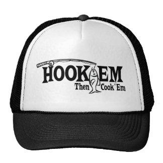 Hook Em' then Cook Em' Mesh Hats