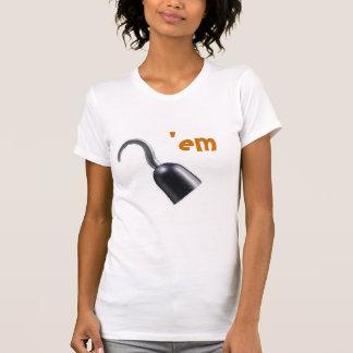 hook 'em t-shirts