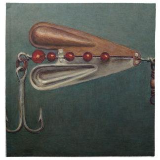 Hook Fishing Lure Napkin