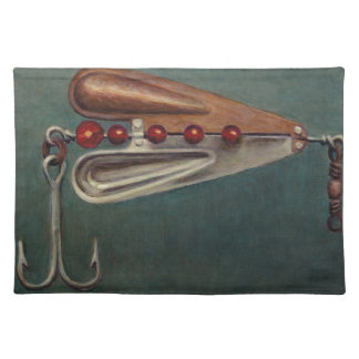 Hook Fishing Lure Placemat