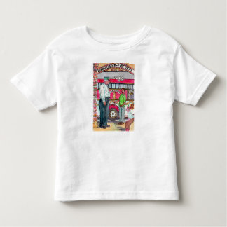 Hook & Ladder Fire Truck  Toddler Tee Shirt