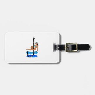 Hook, Line, Sink Her Luggage Tag