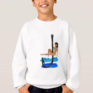 Hook, Line, Sink Her Sweatshirt