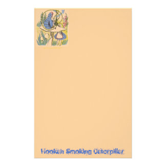 Hookah Smoking Caterpillar Stationery