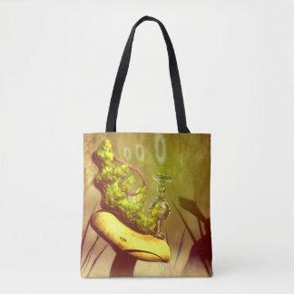 Hookah Smoking Caterpillar Tote Bag