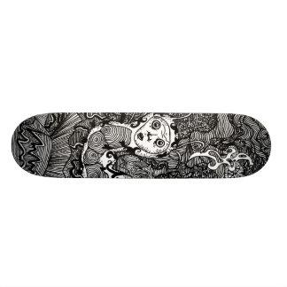 Hookah Smoking Catterpillar 21.6 Cm Skateboard Deck