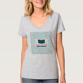 Hooked on Books T-Shirt