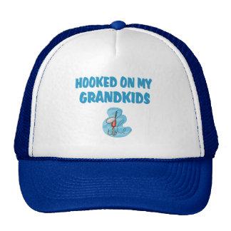 Hooked on Grandkids(Fishing) Hats