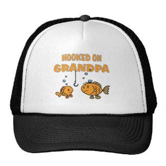 Hooked on Grandpa (fish) Hats