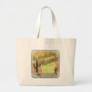 Hooked on Phoenix Jumbo Tote Bag