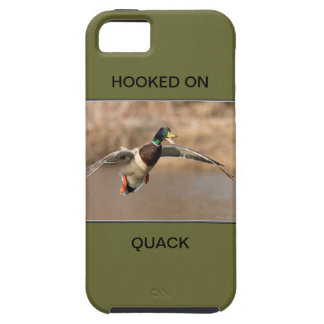 HOOKED ON QUACK CELL CASE