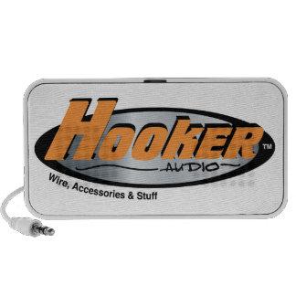Hooker Audio Merchandise Notebook Speakers