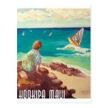 hookipa windsurfing postcards