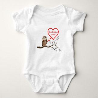 HOOO LOVES YA, BABY? BABY BODYSUIT