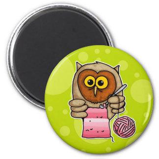 hooooked 6 cm round magnet