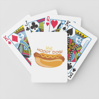 Hoooot Dog Bicycle Playing Cards