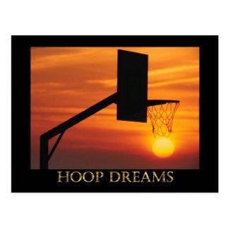 HOOP DREAMS POSTCARD