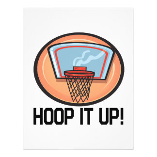 Hoop It Up 21.5 Cm X 28 Cm Flyer