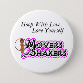 Hoop With Love, Love Yourself 7.5 Cm Round Badge