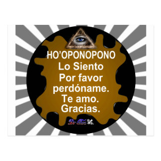 HOOPONOPONO CUSTOMIZABLE PRODUCTS POSTCARD