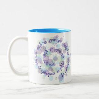 Ho'oponopono Two-Tone Coffee Mug