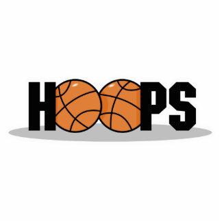 hoops basketball design standing photo sculpture