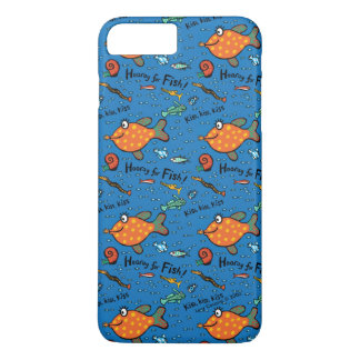 Hooray For Fish Pattern iPhone 7 Plus Case