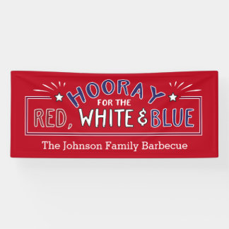 Hooray for July 4th Patriotic Barbecue