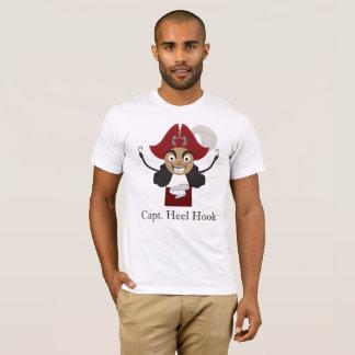 Hooray Heel Hooks! (White T) T-Shirt