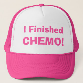 Hooray! I Finished Chemo! 4Marie Trucker Hat