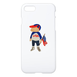 Hooray USA Red, White and Blue 4th of July Toddler iPhone 7 Case
