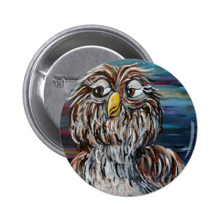 Hoo's Your Daddy? 6 Cm Round Badge
