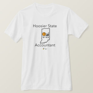 Hoosier State Accountant Men's Accounting T Shirt