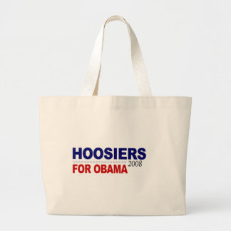 Hoosiers For Obama Tote Bag