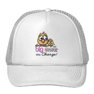 Hoot for Big Sister Cap