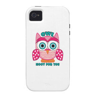 Hoot For You Vibe iPhone 4 Cover